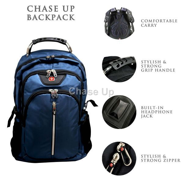 Gents Backpack 8615 TI-005 Imp (Blue)